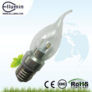 High Quality CE RoHS Candle Light E27 LED 3W