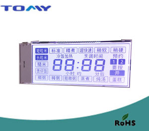 Htn LCD Display with White Backlight pictures & photos