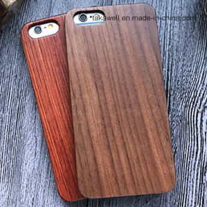 Custom China Artwork Wood Phone Case for iPhone 6/6s Luxury Wooden Case pictures & photos