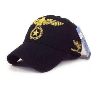 Eagle Embroidery Sanpback Baseball Cap Patch Sports Caps pictures & photos