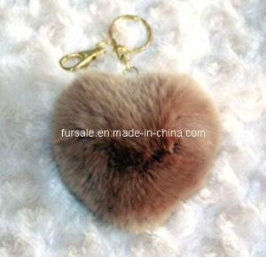 Rex Rabbit Fur Key Holder (rex rabbit fur key holder-12)