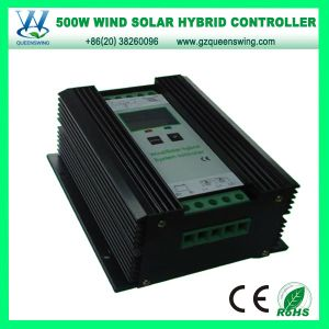 500W 24V PWM Hybrid Solar Controller for Street Light (QW-500JN) pictures & photos