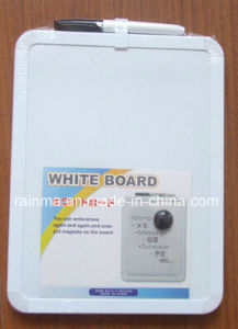 High Quality Magnetic Bulletin Whiteboard with Plstic Frame pictures & photos