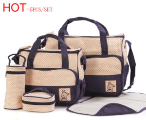 Mommy Diaper Bags 5PCS Per Set pictures & photos