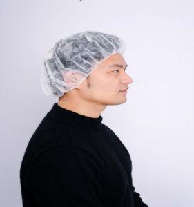 18′′, 19′′ 21′′, 24′′, 28′′disposable Surgical Nonwoven Bouffant Cap pictures & photos