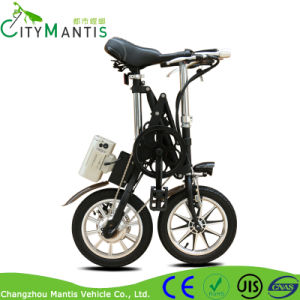 Small Folding Electric Bike 14′′ Motorized Bicycle pictures & photos