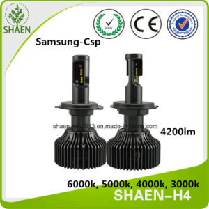 H4 4200lm 30W P7 LED Headlight Bulb pictures & photos