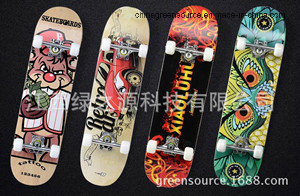 Greensource, Heat Transfer Film for Wooden Scooter pictures & photos