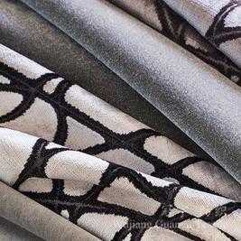 Printed Velour 100% Polyester Home Textile Sofa Fabrics pictures & photos