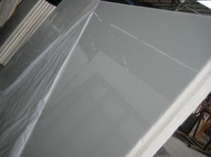 Nano White Glass Stone for Slab Panels pictures & photos