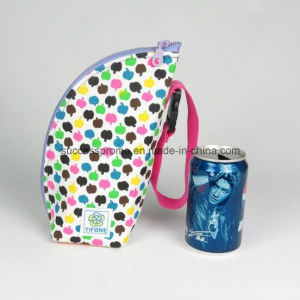 Outdoor Canvas Insulated Bag for Bottle or Feeding-Bottle pictures & photos