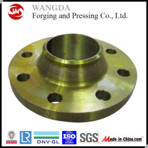 Black or Yellow Painting Carbon Steel Flange for Pipeline pictures & photos