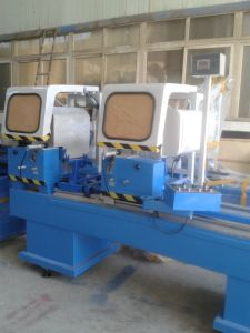 Two Head Cutting Machine for PVC and Aluminum Profile (LJZ2-450X3700) pictures & photos