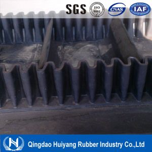 Mine, Stone, Sand Cement Fabric Cord Nylon Nn Ep Cc Black Rubber Conveyor Belt pictures & photos