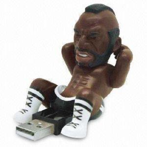 PVC Sportsing Man USB Flash Stick Memory Drive