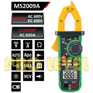 Digital AC and DC Clamp Meter (MS2009A) pictures & photos
