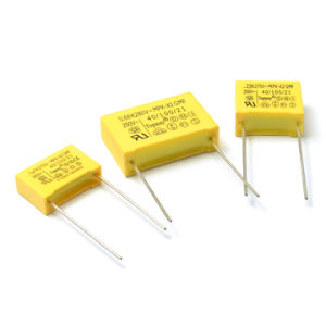 Metallized Polypropylene X2 Film Capacitor Safety Capacitor pictures & photos