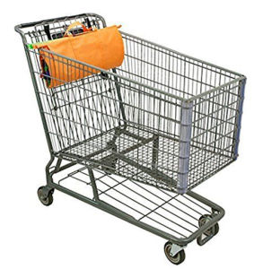 Trolley Bags Supermarket Foldable Grocery Cart Shopping Trolley Bag pictures & photos