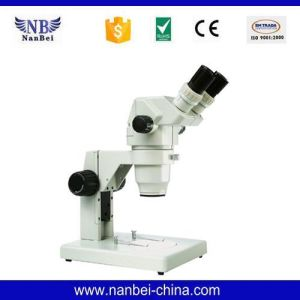 Gl-99b China of Price Laboratory Stereo Zoom Microscope pictures & photos