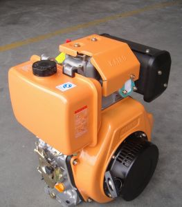 Kae12HP/8kw Single Cylinder Diesel Engine with Electric Start (KA188E)