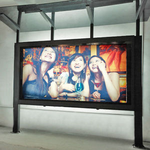 Outdoors Bus Stop Adverting Photo Frame pictures & photos
