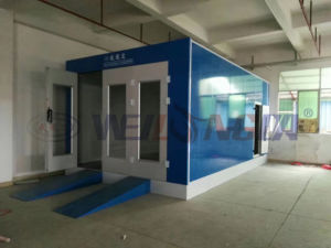 Wld6200 Auto Car Painting Booth (economic type) (CE) pictures & photos