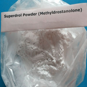 Effective Muscle Gaining Steroid Raw Powder Superdrol CAS: 3381-88-2 pictures & photos