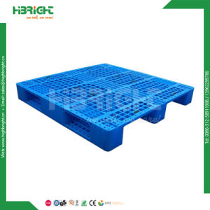 Heavy Duty Reinforced Double Sided Plastic Pallets pictures & photos