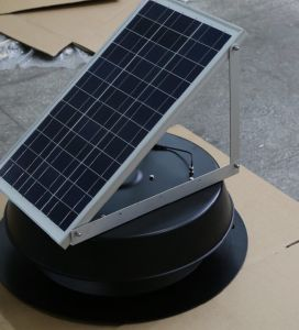 30watt Solar Powered Attic Fan for Attic, Ceiling and Roof pictures & photos
