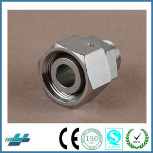 Metric Thread Bite Type Tube Fittings Replace Parker Fittings and Eaton Fittings (REDUCER TUBE ADAPTOR WITH SWIVEL NUT) pictures & photos