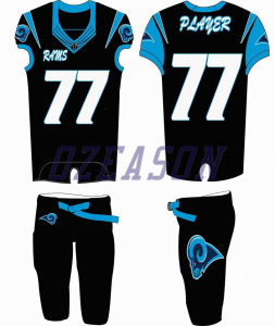 Factory Direct Wholesale Cheap Custom Sublimation American Football Shirts pictures & photos