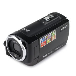 Sx05 HD Camcorder 16m Pixels 16X Digital Zoom 720p Travel Camera Mini DV Dis Gift Black pictures & photos