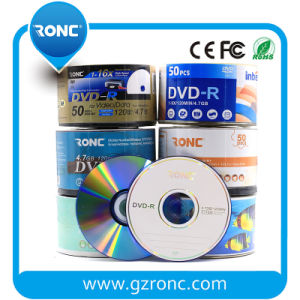 Ronc Brand 4.7GB DVD-R/DVD+R 1-16X Record Speed pictures & photos