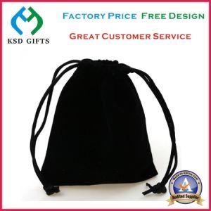 Wholesale Custom Velvet Red Gift Bag/Velvet Pouch pictures & photos