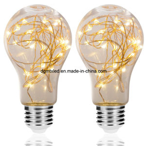 A19 Vintage Edison Bulb decoration LED edsion bulb light 3W for wedding/festival pictures & photos