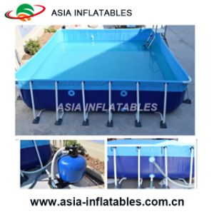 New Design Above Ground Inflatable Plastic Frame Swimming Pool Inflatable Water Bracket Pool pictures & photos