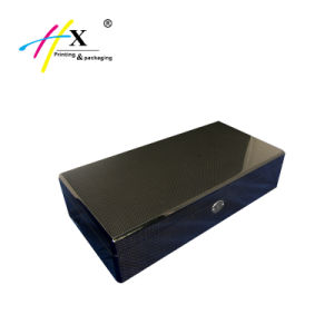 OEM Welcomed 4 Slots Carbon Fiber Box Luxury Wooden Watch Box pictures & photos