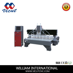 8 Spindle CNC Router CNC Engaver Machine (VCT-2530W-8H) pictures & photos