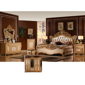 Antique Bedroom Furniture Set with Classic Bed (W808) pictures & photos