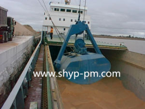 Double Drum Hoist Grab for Handling Cargo with ISO9001 pictures & photos