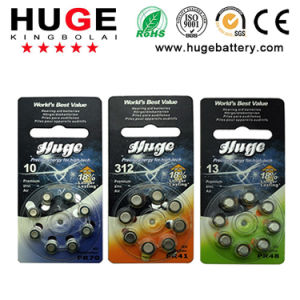 1.4V Zinc Air Hearing Aid Battery A10 (PR70 ) pictures & photos