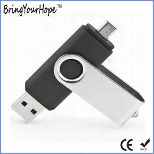 Custom Logo Printing Mobile OTG USB Flash Disk (XH-USB-001OTG) pictures & photos