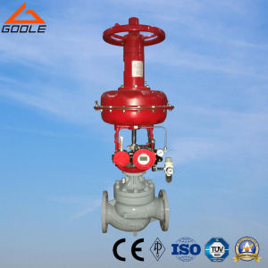 Pneumatic Diaphragm Pressure Regulating Valve (GHTS) pictures & photos