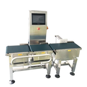 Semi-Automatic Conveyor Belt Combination Weigher with Metal Detector pictures & photos