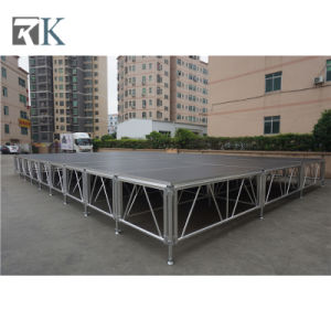 Rk Wholesale Portable Aluminum Stage for Outdoor Concert Event pictures & photos