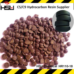 Thermal Hydrocarbon Resin C9 Petroleum Resin Acid Resistant Hr120-18 pictures & photos