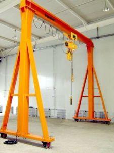 Electric Hoist Single Girder Outdoor Crane pictures & photos