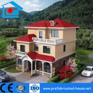 Prefabricated Light Weight Steel Structure Frame Villa pictures & photos