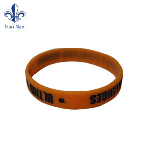 Wholesale Custom Cheap Colorful Promotional Gift Silicone Bracelet pictures & photos