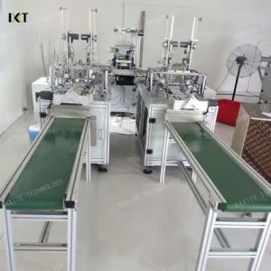 Surgical Nonwoven Face Mask Making Machine pictures & photos